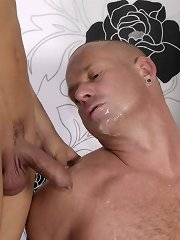 Older Hungarian Hunk Gets Fucked, Fisted & Jizzed By The Mendez Twins