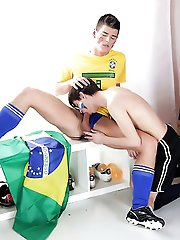 Staxus - Sportladz: Soccer-Crazy Pals Relish A Sweaty, High-Octane Suck-And-Fuck-Fest In Their Jocks!